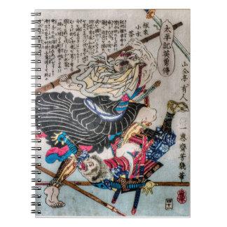The Warrior Monk Spiral Notebook