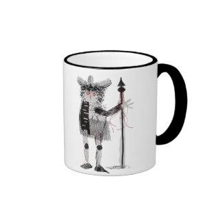 The Warrior Ringer Coffee Mug