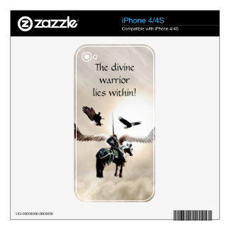 The warrior within skins for the iPhone 4