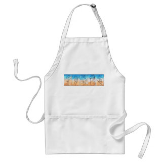 The Warriors Adult Apron