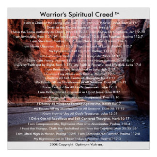 The Warriors Creed by Warriors Creed Poster