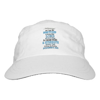 The Warrior's Prayer...Dystonia Hat