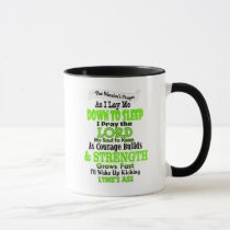 The Warrior's Prayer   Lyme Mug