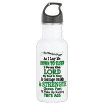 The Warrior's Prayer   TBI Water Bottle