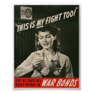 The Wartime Woman! Poster