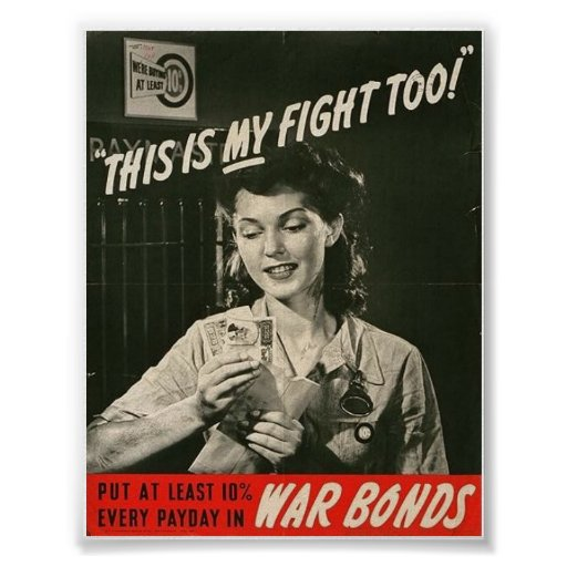 The Wartime Woman! Posters