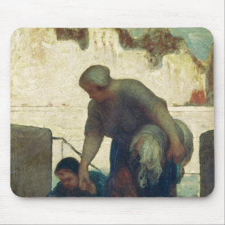 The Washerwoman, c.1860-61 Mouse Pad
