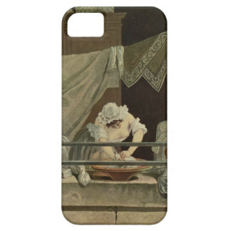 The Washerwoman, engraved by J. Laurent Julien (c1 iPhone 5 Covers