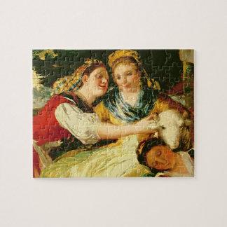 The Washerwomen, before 1780 Jigsaw Puzzle