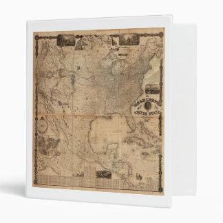 The Washington Map of the United States (1861) Binder