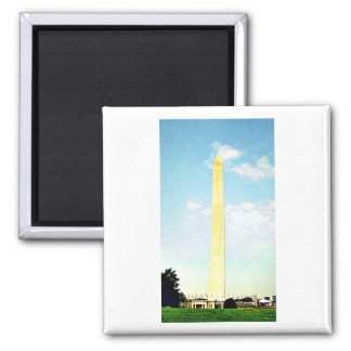 The Washington Monument 2 Inch Square Magnet