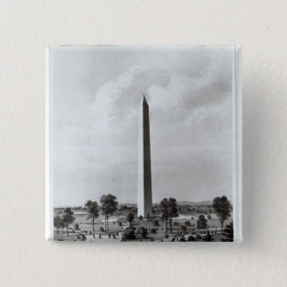 The Washington Monument and Surroundings Button