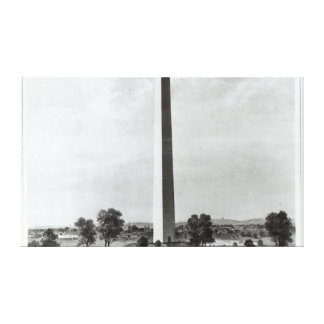 The Washington Monument and Surroundings Canvas Print