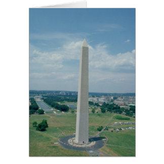 The Washington Monument, built 1848-85 Card