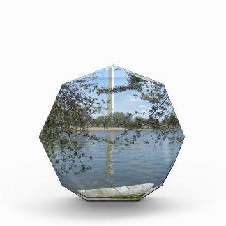 The Washington Monument in Spring Acrylic Award