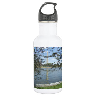The Washington Monument in Spring Water Bottle