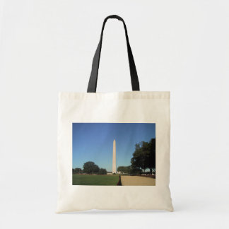 The Washington Monument In The Day Tote Bags