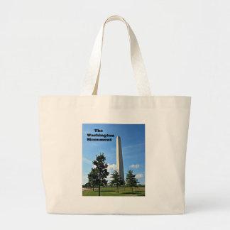 The Washington Monument Large Tote Bag