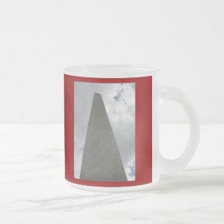 The Washington Monument, Washington D.C. Frosted Glass Coffee Mug