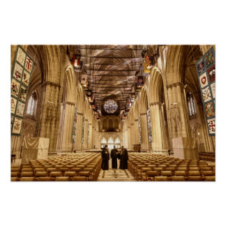 The Washington National Cathedral Poster