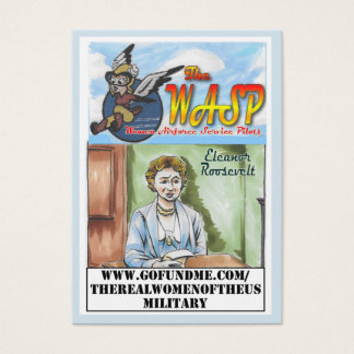 The WASP Eleanor Roosevelt Trading Card