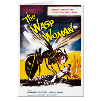 """""""The Wasp Woman"""" Card"""