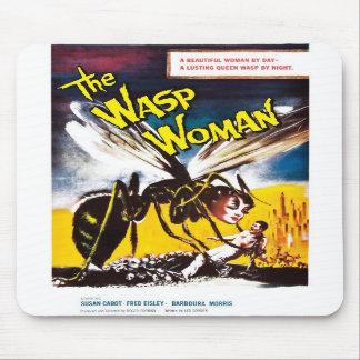 """The Wasp Woman"" Mousepad"