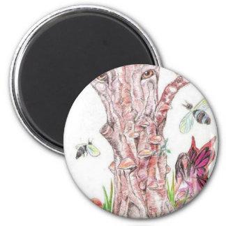 The watcher (2) 2 inch round magnet