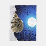 The Watcher Fleece Blanket