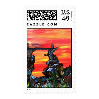 The Watcher Postage Stamps