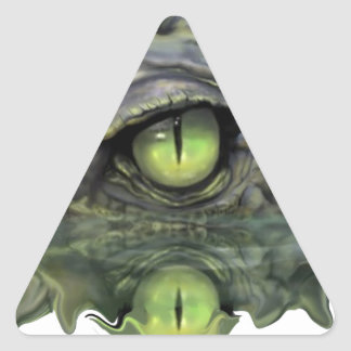 THE WATCHFUL EYE TRIANGLE STICKER