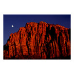 The Watchman and the Moon Print