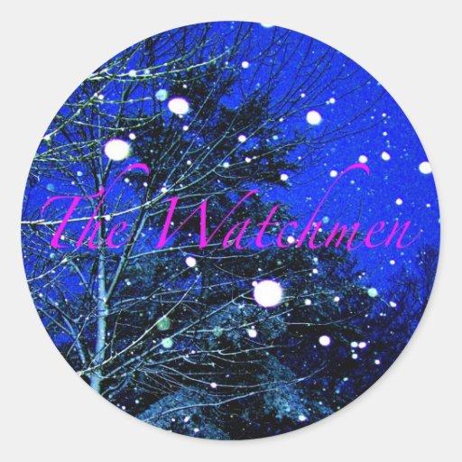 "The Watchmen - ""Falling Stars"" Sticker"