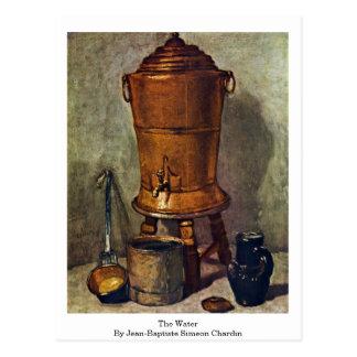 The Water By Jean-Baptiste Simeon Chardin Postcard