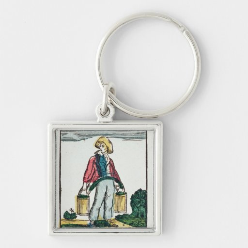 The Water Carrier Keychain