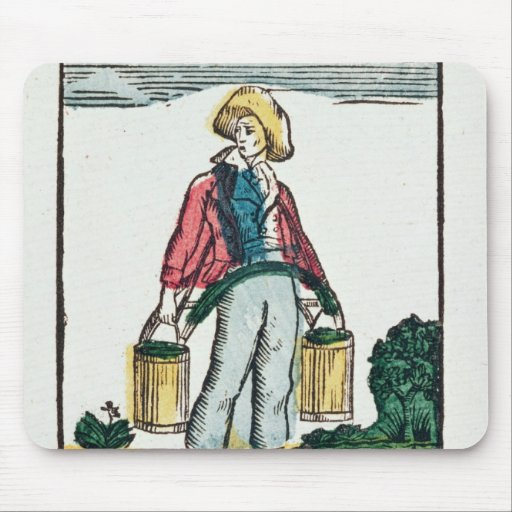 The Water Carrier Mousepads