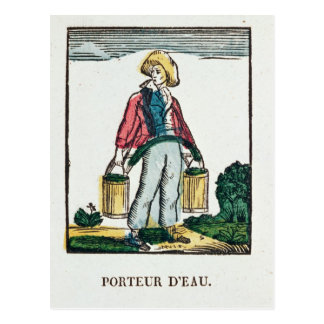 The Water Carrier Postcard