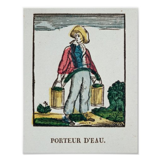 The Water Carrier Print