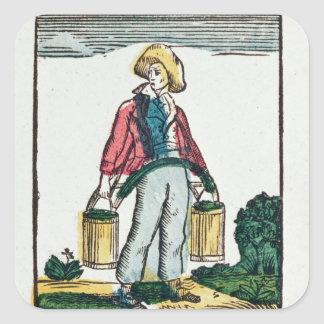 The Water Carrier Square Sticker