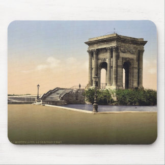 The water castle, Montpelier, France classic Photo Mousepads