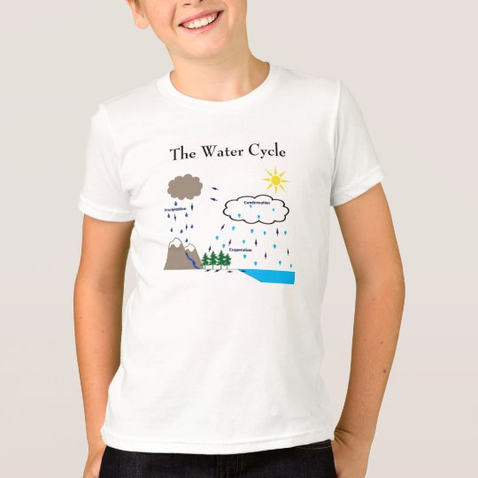 The water cycle t-shirt