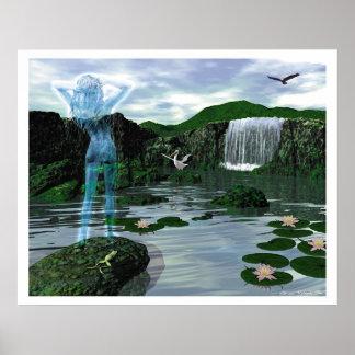 The Water Deva Print