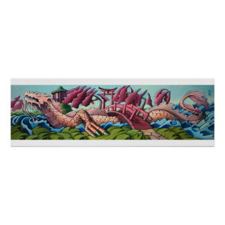The Water Dragon Poster