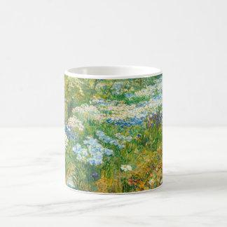 The Water Garden by Childe Hassam Classic White Coffee Mug
