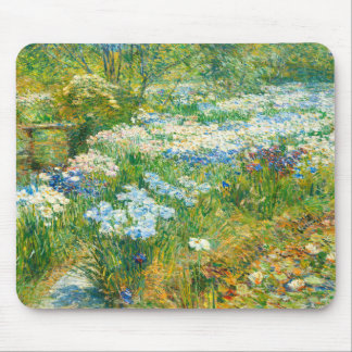 The Water Garden by Childe Hassam Mouse Pad