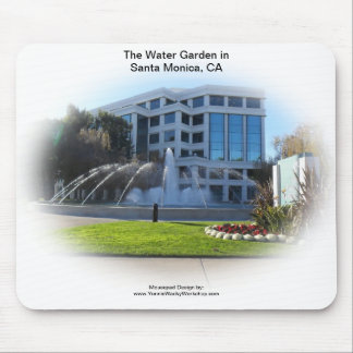 The Water Garden Mouse Pad