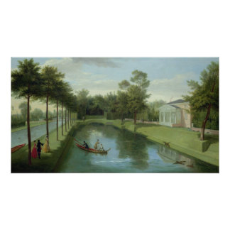 The Water Gardens of Chiswick House Poster
