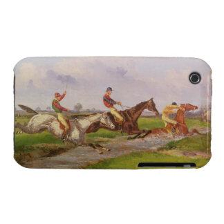 The Water Jump: the Autumn Steeplechase at Ballara iPhone 3 Case