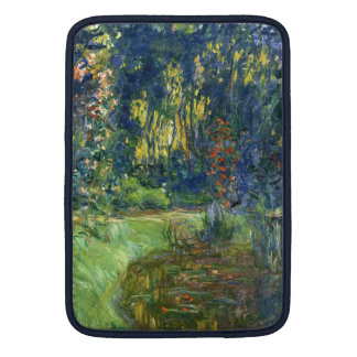 The Water Lily Pond at Giverny - Claude Monet MacBook Sleeve