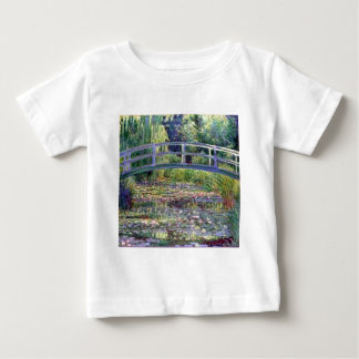 The Water Lily Pond by Claude Monet Baby T-Shirt